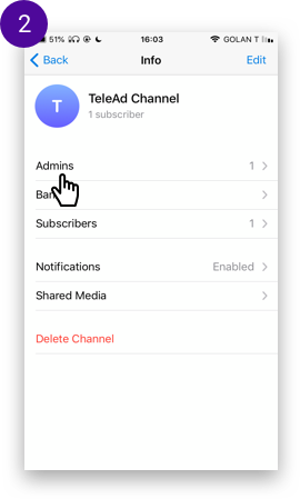 Add New Channel or Group with Registration - Twipel